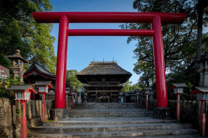 Aso-Aoijinjya-Torii gate