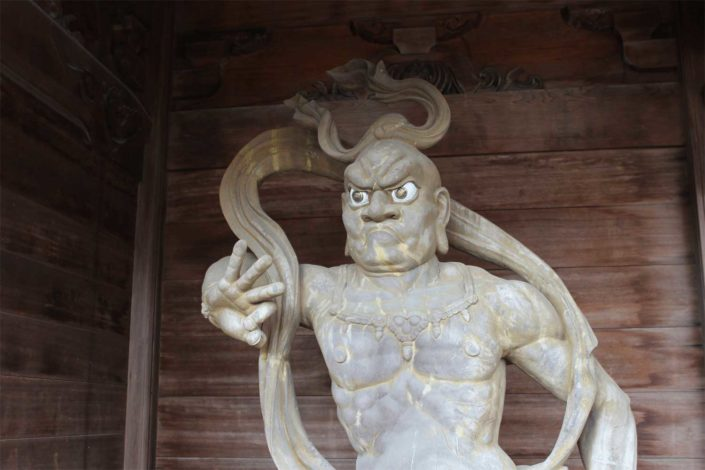 Eikokuji_Wooden statues(left)