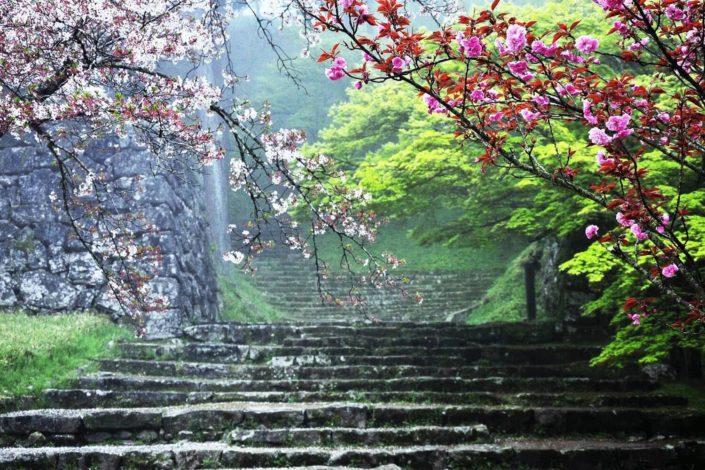 hitoyoshi_castle_spring