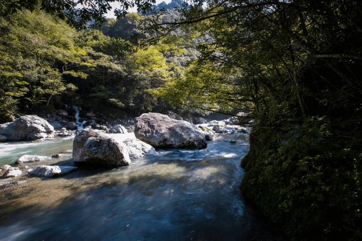 万江川渓谷